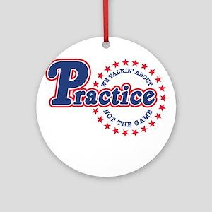 Philadelphia Practice Ornament (Round)