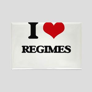 I Love Regimes Magnets
