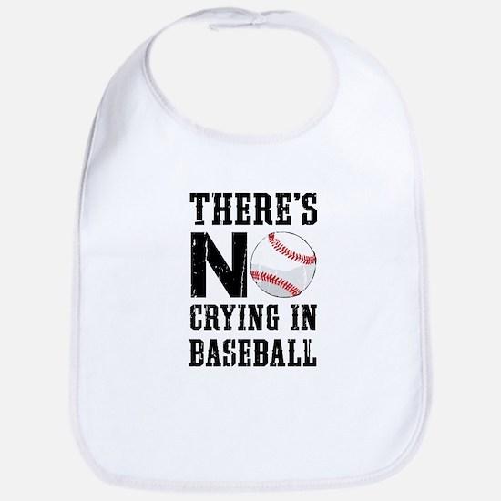 No Crying In Baseball Bib