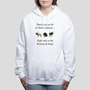 All God's Creatures Women's Hooded Sweatshirt