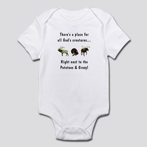 All God's Creatures Infant Bodysuit