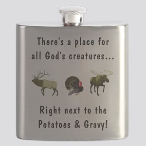 All God's Creatures Flask