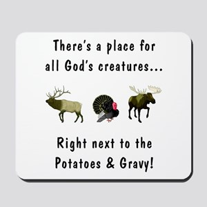 All God's Creatures Mousepad
