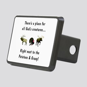 All God's Creatures Rectangular Hitch Cover