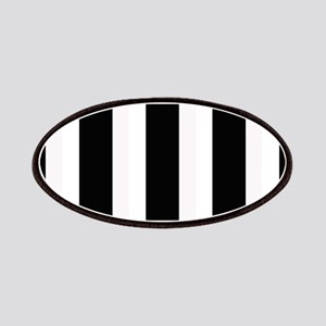Black and White Stripes Striped classic de Patches