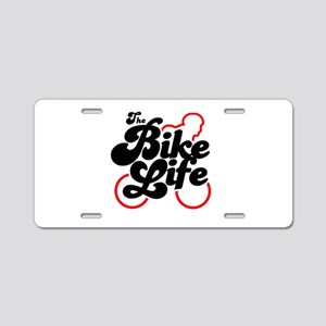 The Bike Life Aluminum License Plate