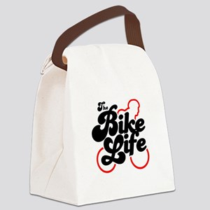 The Bike Life Canvas Lunch Bag