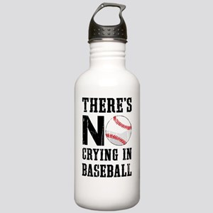No Crying In Baseball Stainless Water Bottle 1.0L