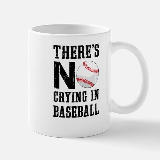 No Crying In Baseball Mugs