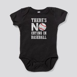 No Crying in Baseball Baby Bodysuit