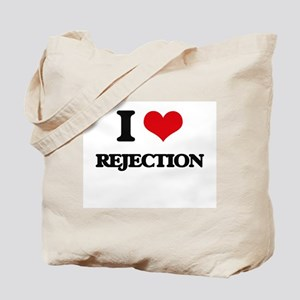 I Love Rejection Tote Bag