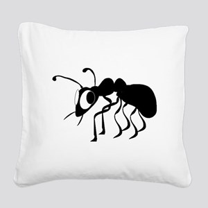 Cartoon Ant Square Canvas Pillow