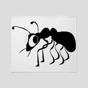 Cartoon Ant Throw Blanket