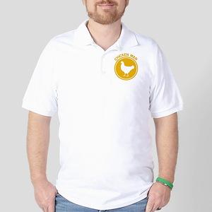 Chicken Man Golf Shirt