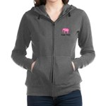 Personalizable Pink Elephant With Clover Women's Z