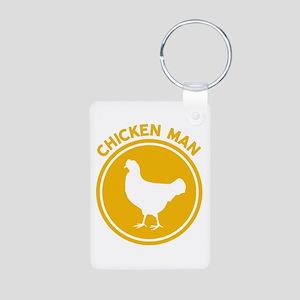 Chicken Man Keychains
