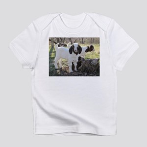 Twin Kids In The Woods Infant T-Shirt