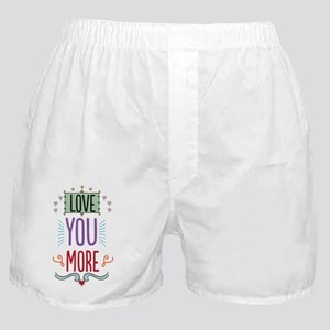 Love You Boxer Shorts