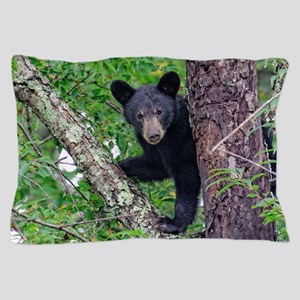 I SEE YOU - Baby Black Bear Pillow Case
