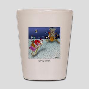 Christmas Cartoon 9243 Shot Glass