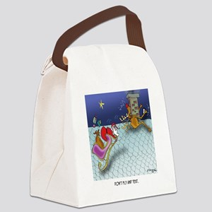 Christmas Cartoon 9243 Canvas Lunch Bag