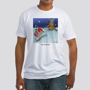 Christmas Cartoon 9243 Fitted T-Shirt