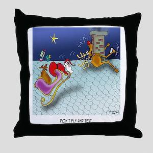 Christmas Cartoon 9243 Throw Pillow