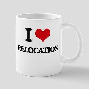 I Love Relocation Mugs