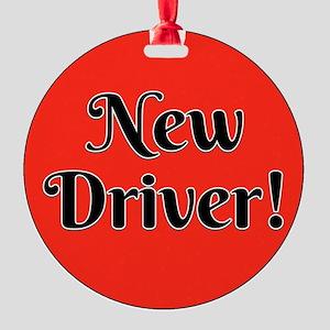 New Driver Ornament