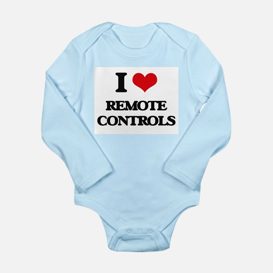 I Love Remote Controls Body Suit