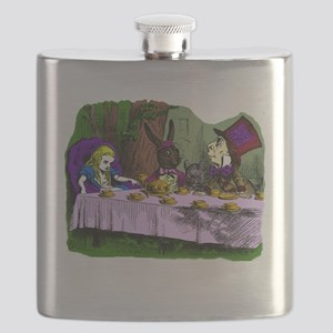 tea party Mad Hatter Flask