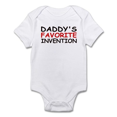 """""""Daddy's Favorite Invention"""" Infant Bodysuit"""