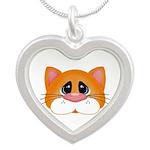 Orange Cat Necklaces