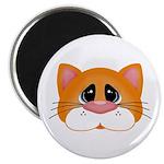 Orange Cat Magnets