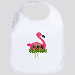 Irish Flamingo Bib