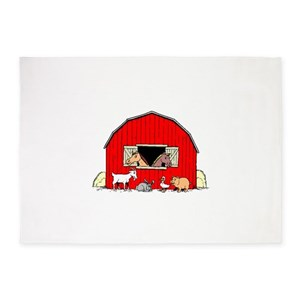 Farm Animals Area Rugs