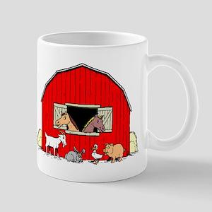 Barn Animals Mugs