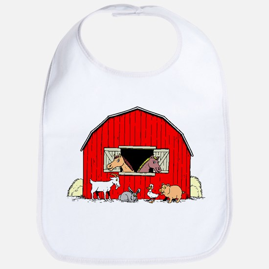 Barn Animals Bib