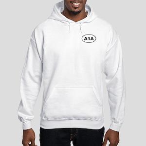 Hooded Florida A1A Sweatshirt
