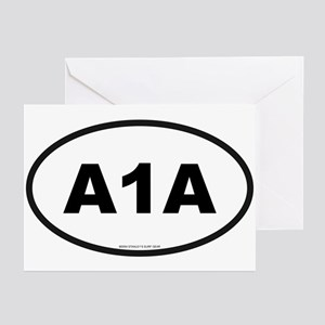 Florida A1A Greeting Cards (Pk of 10)