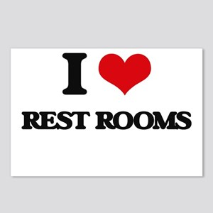 I Love Rest Rooms Postcards (Package of 8)