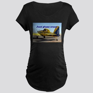 Just plane crazy: Air Tractor (b Maternity T-Shirt