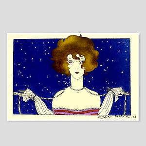 Twenties Party Girl Postcards (Package of 8)
