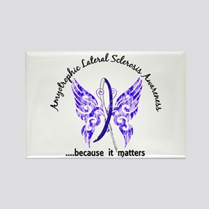 ALS Butterfly 6.1 Rectangle Magnet