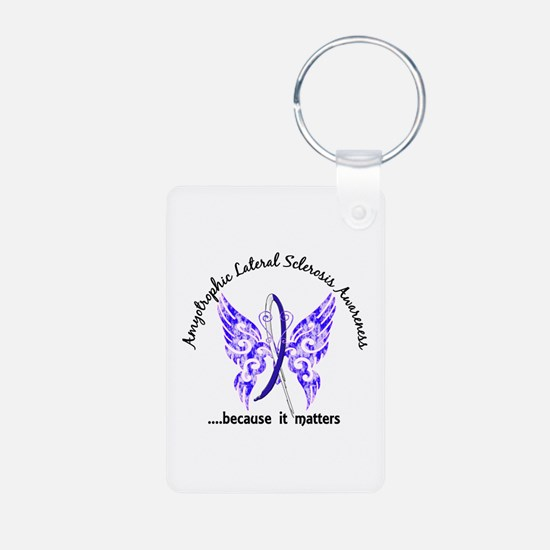 ALS Butterfly 6.1 Aluminum Photo Keychain
