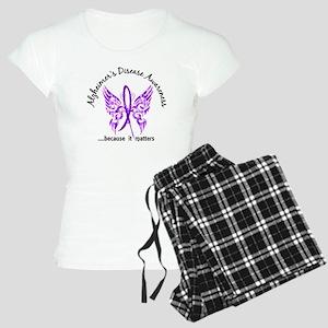 Alzheimer's Disease Butterf Women's Light Pajamas