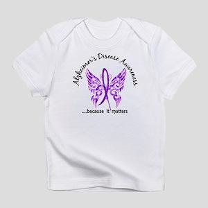 Alzheimer's Disease Butterfly 6.1 Infant T-Shirt