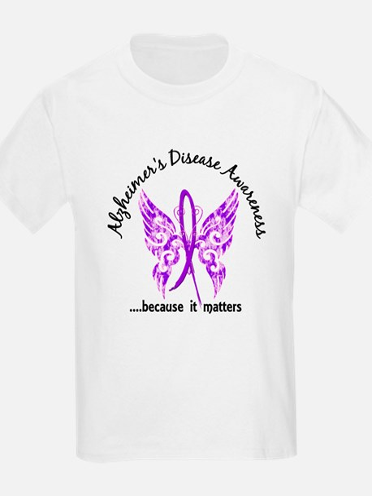 Alzheimer's Disease Butterfly 6 T-Shirt