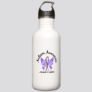 Autism Butterfly 6.1 Stainless Water Bottle 1.0L