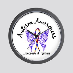Autism Butterfly 6.1 Wall Clock